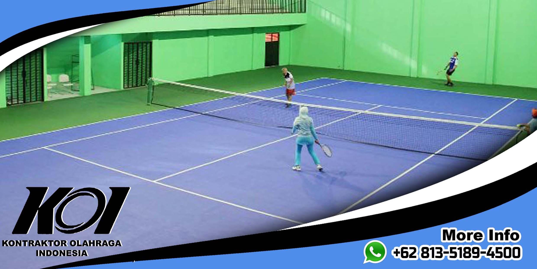 Biaya Jasa Pembuatan Lapangan Tenis Murah Bagus Berkualitas